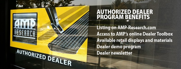 Authorized AMP-Research Dealer