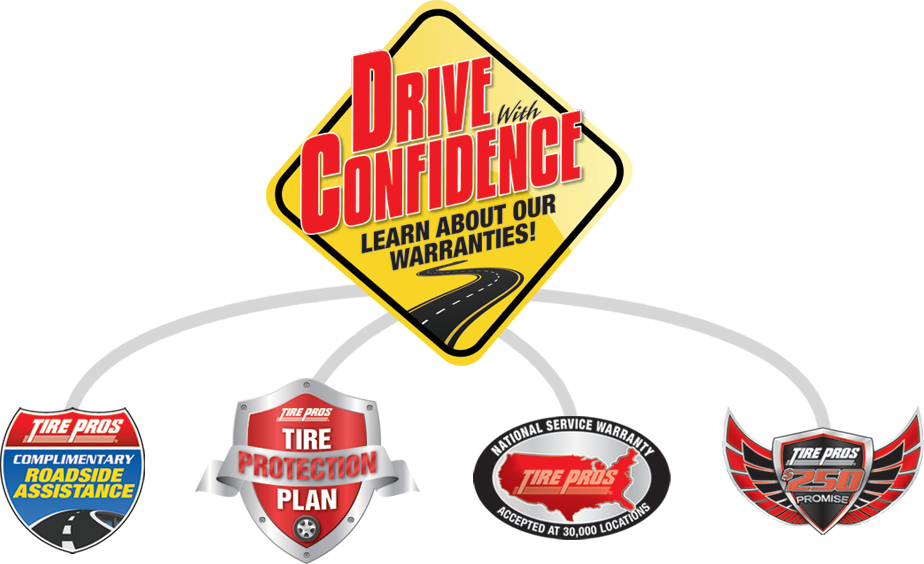 Tire Pros Drive With Confidence Guarantee at Hurricane Tire Pros in Hurricane, UT 84737